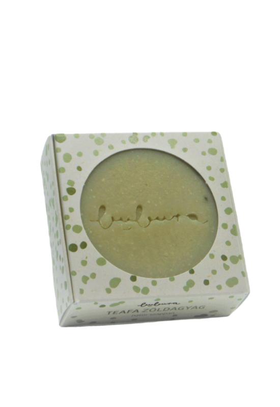 teafa zöldanyag natúr szappan