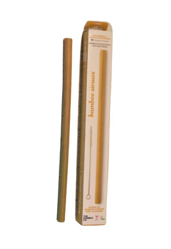 bambusz szívószál